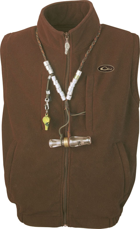 Drake Waterfowl 174 Mst Windproof Layering Vest Solid