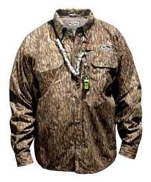 928f5bbbc76ce Drake Waterfowl Systems Est Heat-escape Waterproof Button-up Shirt