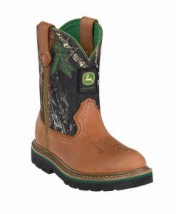 john deere youth johnny popper camo boots