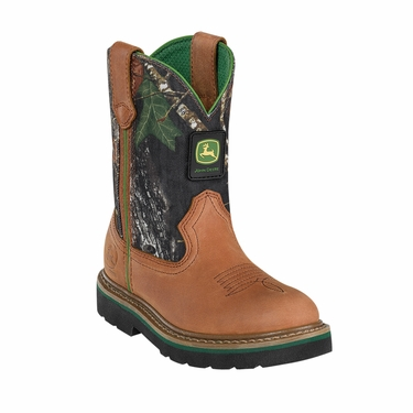 john deere youth johnny popper camo boots