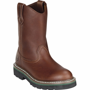 john deere youth classic pull on boot