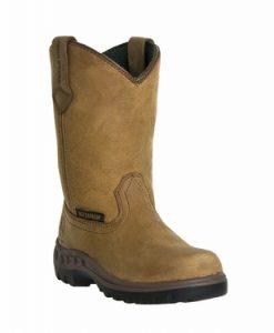 john deere youth waterproof pull-on boots