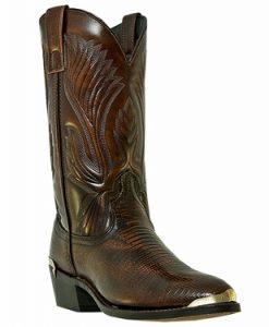 Laredo Men's New York Lizard Print Western Boots #68082