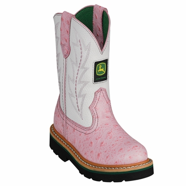 john deere children's classic pull on boot