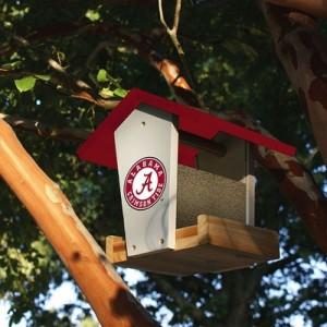 Al Wooden Birdfeeder
