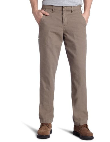 carhartt men's canvas khaki relaxed fit straight leg,mushroom