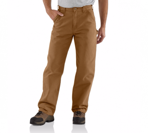 CARHARTT WASHED DUCK WORK PANT CARHARTT BROWN