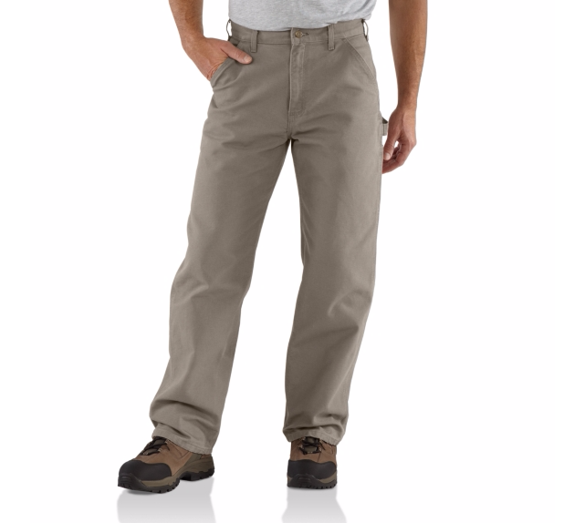 CARHARTT WASHED DUCK WORK PANT DESERT