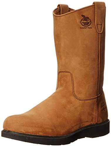 georgia boot men's g4432 wellington, mississippi tan,