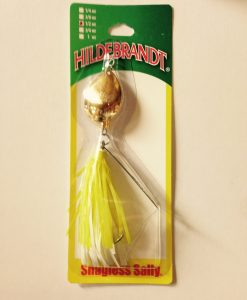 hildebrandt snagless sally 1/2 oz. with gold blade