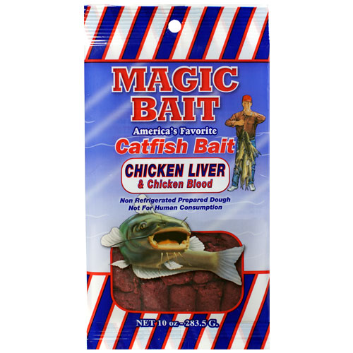 magic bait chicken liver & chicken blood 10 oz.