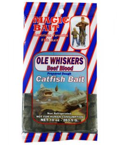 magic bait ole whiskers beef blood