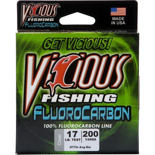 vicious fishing 17 lb./200 yd. 100% fluorocarbon spool