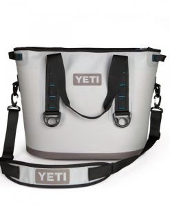 yeti hopper 30 fog gray/tahoe blue