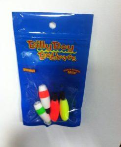 "betts billy boy bobbers 1 1/ 2"" peg foam float cigar asst 4 pc."