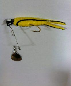 betts spin 1/4 oz. split tail