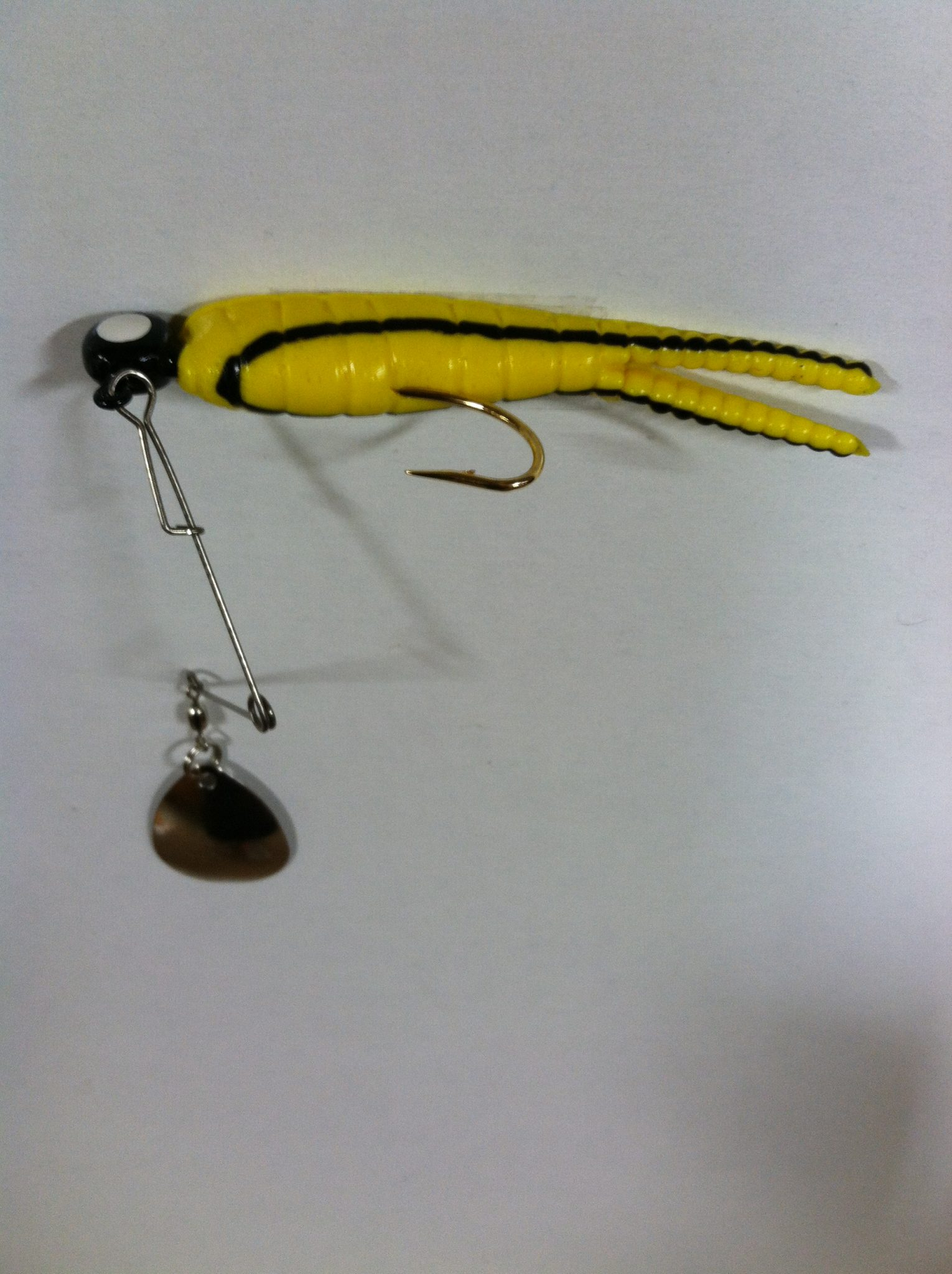 betts spin 1/4 oz. split tail
