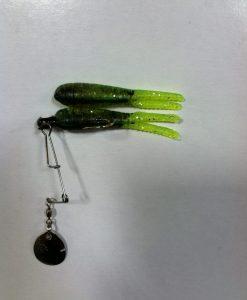 betts split tail spin 1/8 oz. w/ extra bait