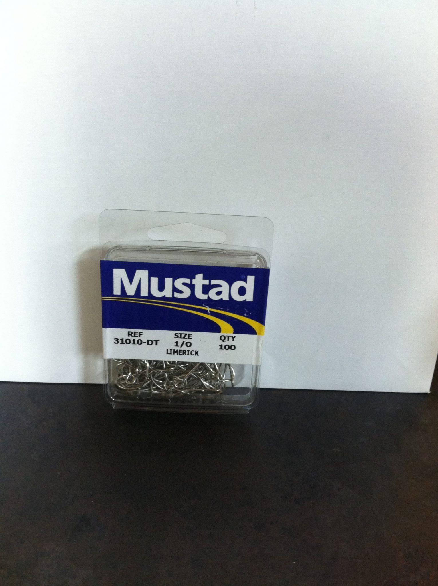mustad c-tin limerick 100 pk.