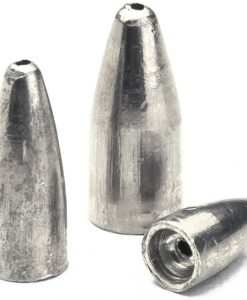 bullet weights slip sinker 1/4 oz ,10 pk.