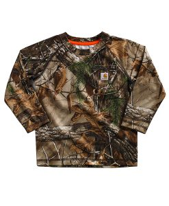 carhartt infant /toddler force camo pocket tee