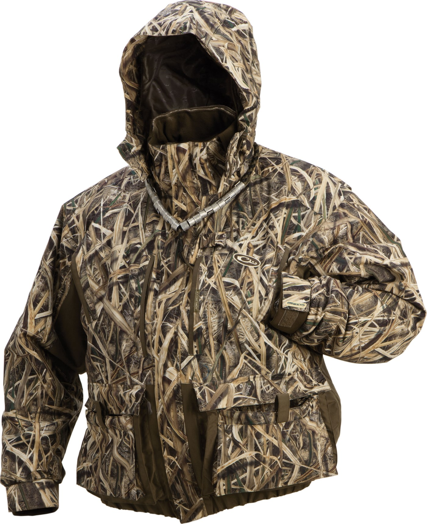 drake lst eqwader 3-in-1 plus 2 wader coat 2.0