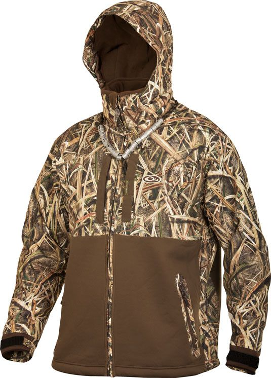 02c49099af65c drake lst heavyweight eqwader deluxe full zip mossy oak shadow grass blades