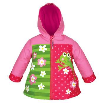 stephen joseph children's raincoat - frog