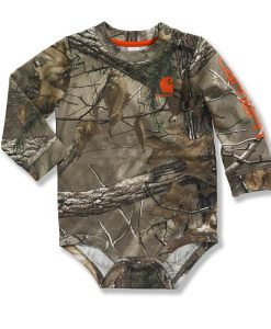 carhartt boys' infant/toddler camo bodyshirt