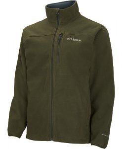 columbia men's wind protector fleece jacket