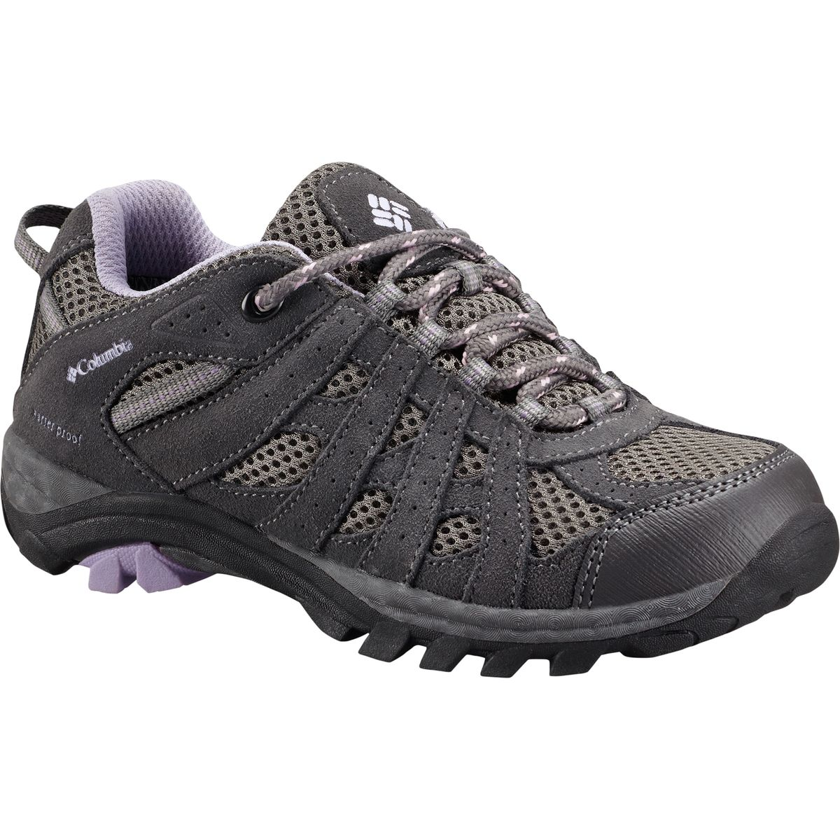columbia youth redmond explore waterproof trail shoe