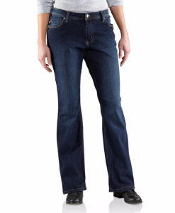 carhartt women's relaxed-fit denim jasper jean