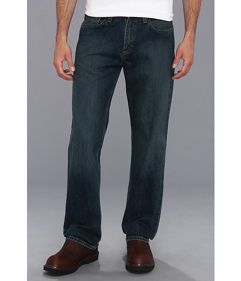 carhartt men's relaxed straight leg five pocket jean,weathered blue