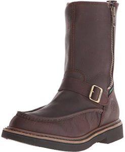 georgia boot men's g4124 wellington work shoe, soggy copper kettle