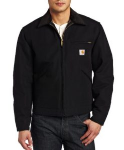 carhartt men's weathered duck detroit jacket j001