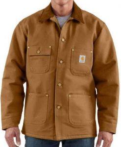 carhartt chore coat carhartt brown