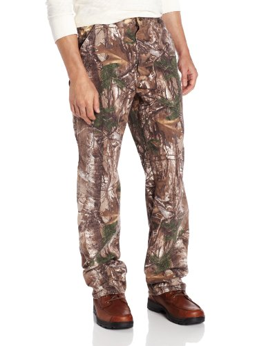 carhartt men's camo washed duck dungaree,realtree xtra