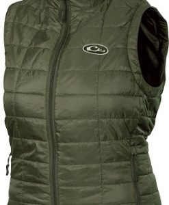 Drake Ladies Synthetic Down Pac- Vest