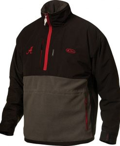 drake univ. of alabama game day eqwader quarter- zip