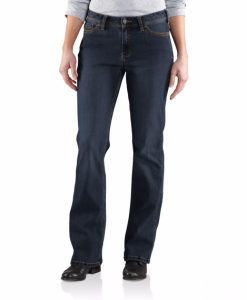 carhartt women's original-fit denim jasper jean