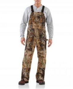 carhartt camo bibb overalls