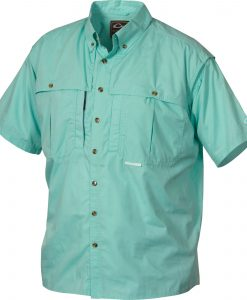 drake cotton stay cool wingshooter's shirt short sleeve
