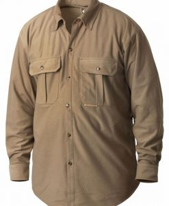 drake three pocket micro-fleece shirt