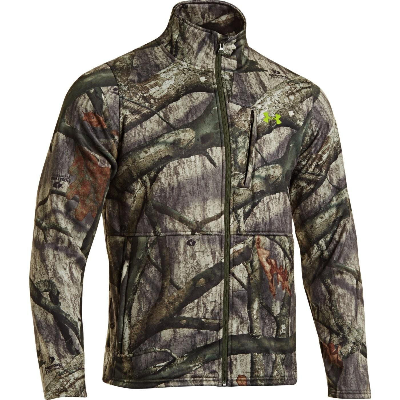 under armour men's fleece scent control jacket