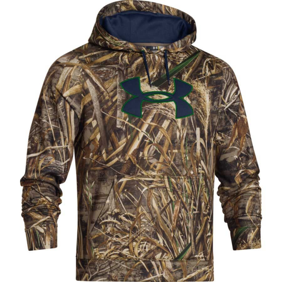 under armour men's fleece camo big logo