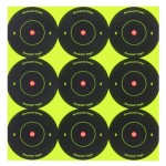 birchwood casey shoot-n-c 2-inch round bull's-eye target