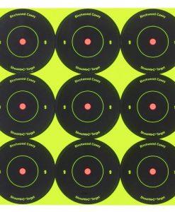 birchwood casey shoot-n-c 2-inch round bull's-eye target
