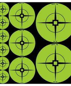 birchwood casey target spots green assortment