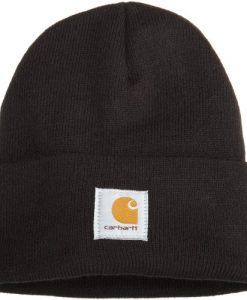 carhartt men's acrylic watch hat,black,