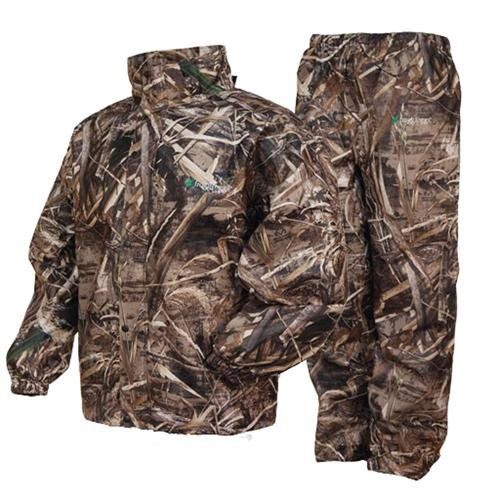 frogg toggs all sport camo rain suit, rt max-5